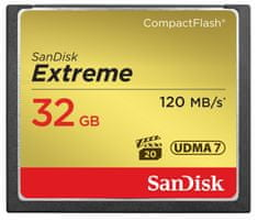 SanDisk Compact Flash Extreme 32GB 120MB/s (SDCFXSB-032G-G46)