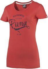 Puma ženska majica Style Personal Best ATHL Tee, rdeča