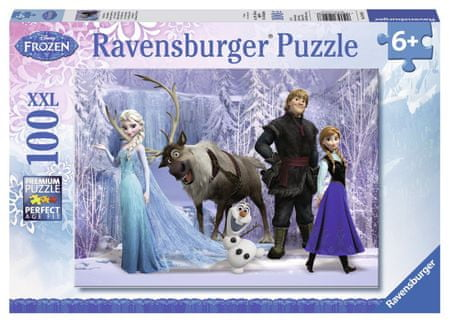 Ravensburger Puzzle Kraina Lodu Frozen 100 el. II