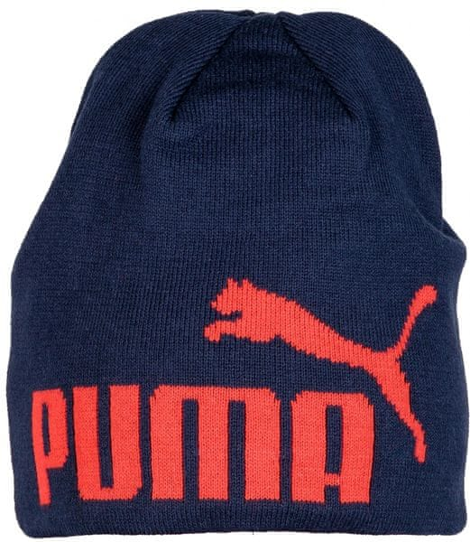 Puma Big Cat No.1 Logo Beanie black iris/puma