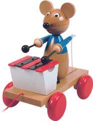 Woody miš za vlečenje, s ksilofonom