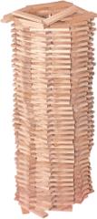 Woody Zestaw deseczek drewnianych, 200 el.