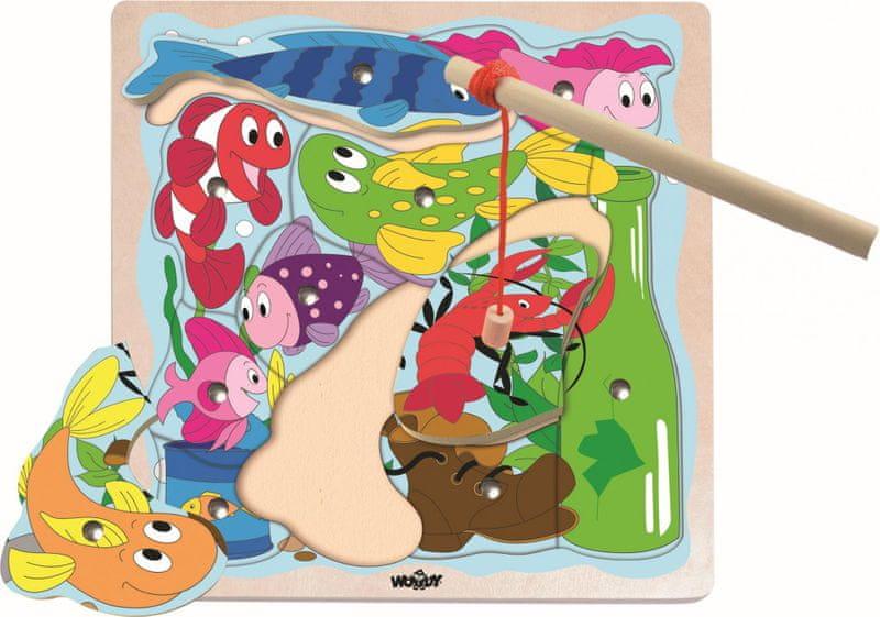 Woody Magnetická hra Řeka