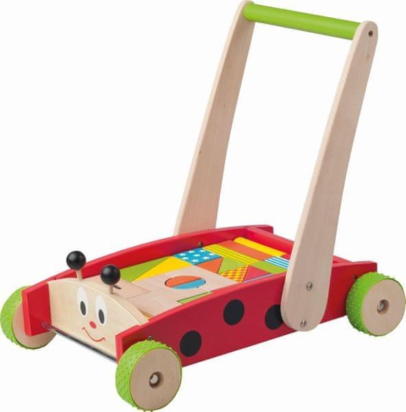 Woody Vozík s kostkami - Beruška