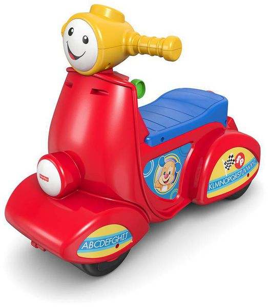 Fisher-Price Smart stages mluvící scooter cz