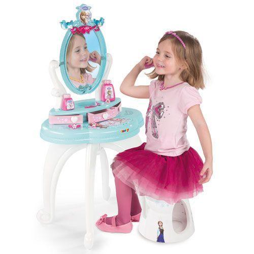 Smoby Toaletní stolek se židličkou Ledové království - rozbaleno