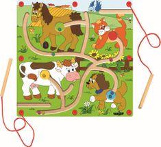 """Woody Magnetická hra - Nakŕm zvieratká """"Mašinka"""""""
