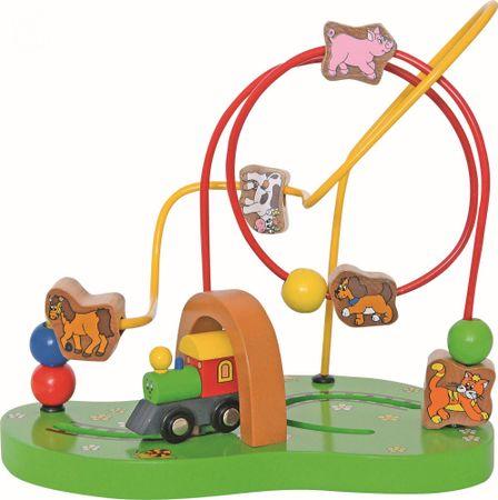 Woody motorični labirint