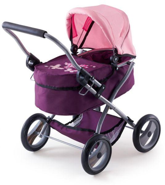 Bayer Design Kočárek pro panenky My First Trendy růžová/fialová