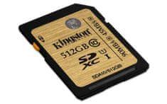Kingston spominska kartica SDXC UHS-I 512 GB - Odprta embalaža