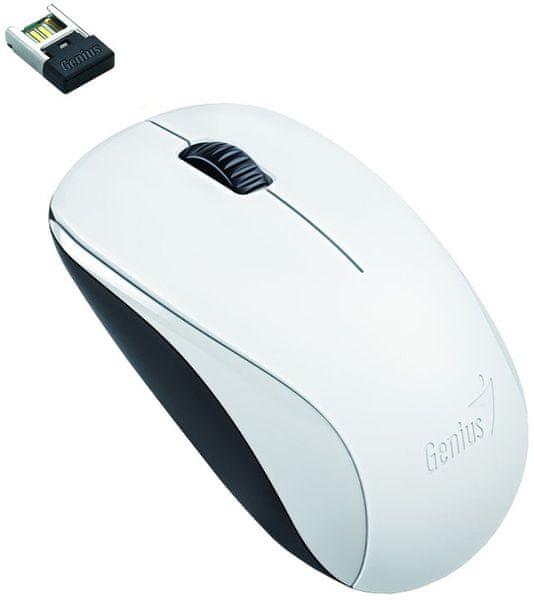 Genius NX-7000 bezdrátová, bílá (31030109108)