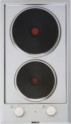 BEKO HDCE-32201 X beépíthető elektromos főzőlap