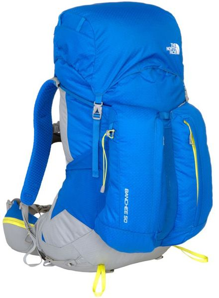 The North Face Banchee 50 Nautical Blue/Energy Yellow S/M