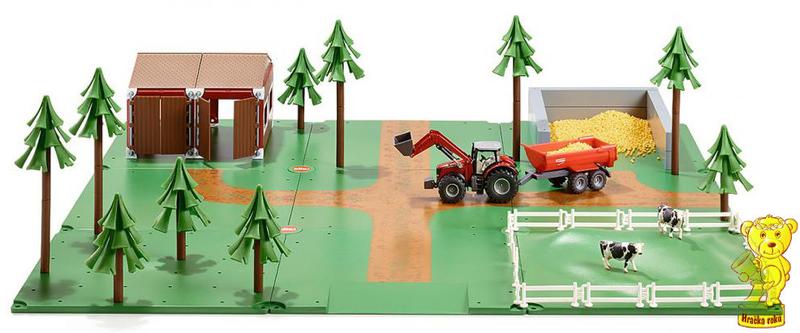 SIKU World - Startovací farmářský set 48 dílů + dárek