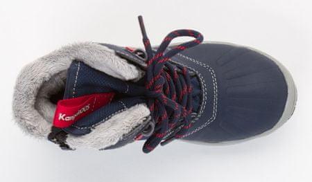 KangaROOS chlapecká kotníčková obuv Kanga - Tex 31 modrá  1f971d6350b