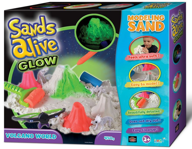 Sands Alive Glow Volcano World