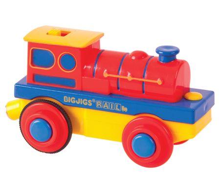Bigjigs Rail Elektrická lokomotiva Mašinka