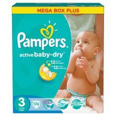 Pampers Active Baby plienky veľ.3 (174ks)