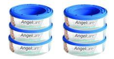 Angelcare Wkład do pojemnika na pieluchy, 6 sztuk