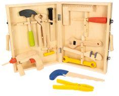 Bigjigs Toys Dřevěné hračky Kufřík s nářadím