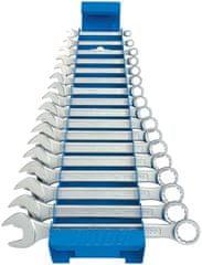 Unior garnitura kratkih viličasto obročnih ključev na kovinskem stojalu - 125/1MS (605539)