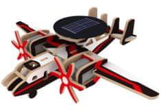 Robotime Vojenské solární letadlo s radarem P340S barevné