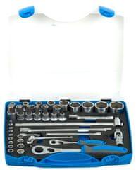 """Unior garnitura nasadnih ključeva 1/2"""" i 1/4"""" u plastičnoj kutiji - 190BI6P43 (611944)"""