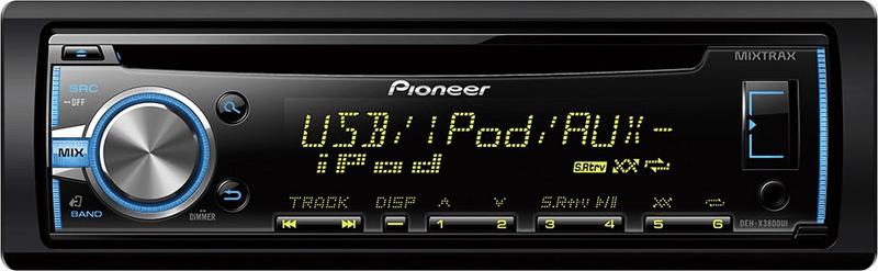 Pioneer DEH-X3800UI - II. jakost