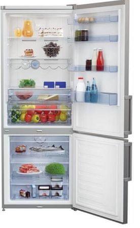 Beko kombinirani hladilnik RCNE520E41ZX