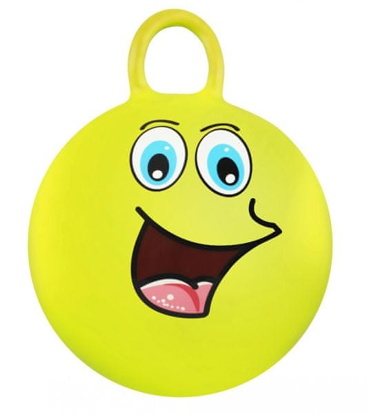Eddy Toys Skákací míč 45 cm žlutá