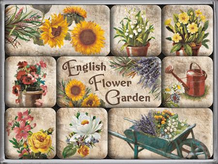 postershop sada magnet english flower garden mall cz. Black Bedroom Furniture Sets. Home Design Ideas