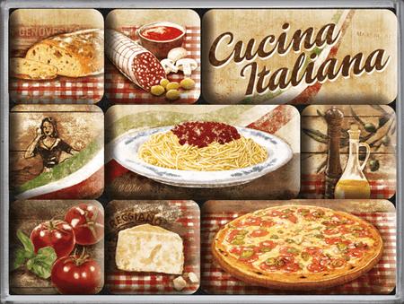 Postershop set magnetov Cucina Italiana, 9 kos