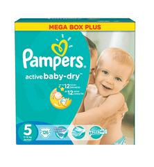Pampers Active Baby 5 Junior pelenka - 126 db