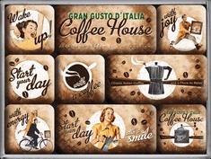 Postershop Sada magnetů Coffee House