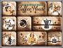 1 - Postershop Zestaw magnesów Coffee House