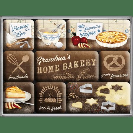 Postershop set magnetov Home Bakery, 9 kos