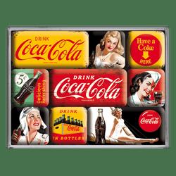 Postershop Sada magnetů Coca-Cola (různé)