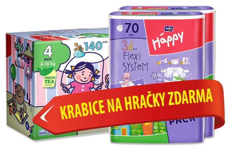 Bella Happy Maxi Big Pack - 140 ks