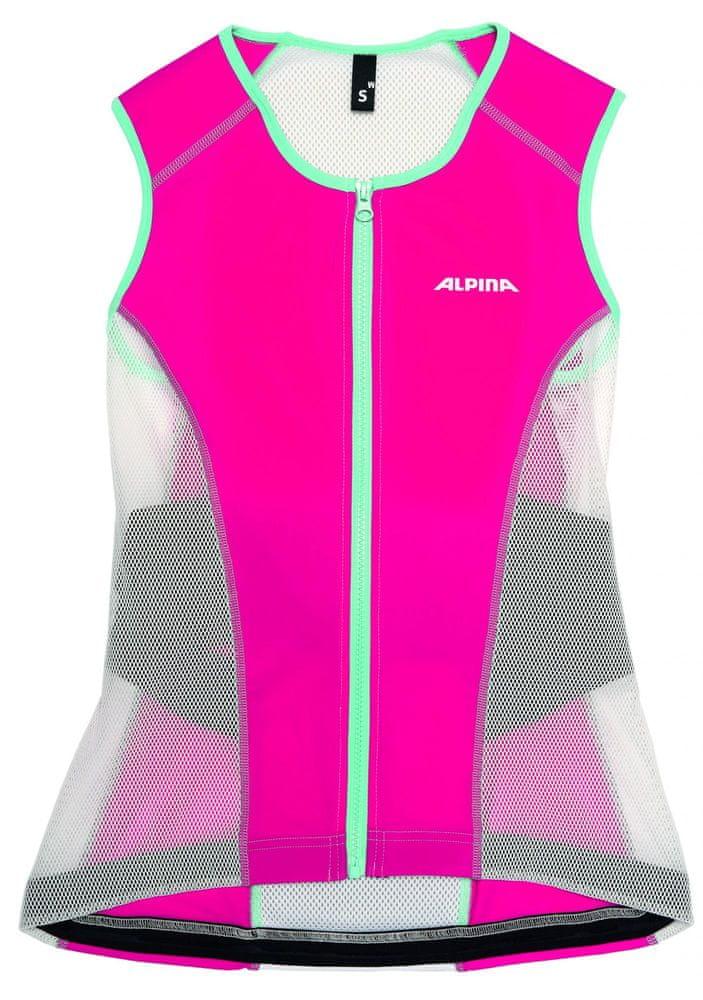 Alpina Sports JSP Women Vest Soft White/Berry L