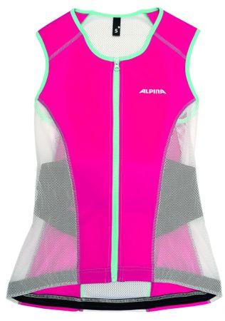 Alpina ochraniacz pleców JSP Women Vest White/Berry M