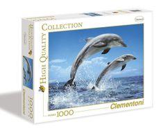 Clementoni Puzzle 1000 dielikov - delfíny