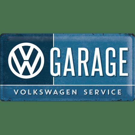 Postershop okrasna tabla VW Garage 25 x 50 cm
