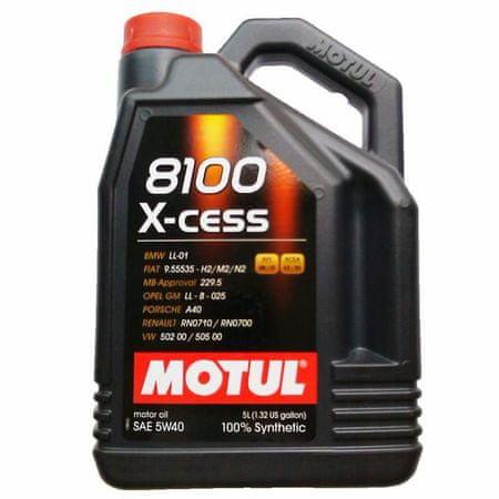 Motul olje 8100 X-Cess 5W40 5L