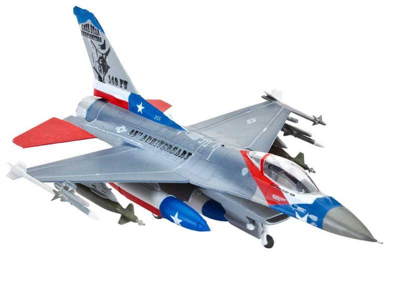 Revell ModelSet 63992 Model Set F-16C USAF (1:144)