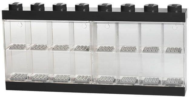 LEGO® Sběratelská skříňka 16 minifigurek - černá