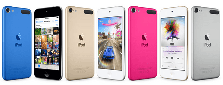 Apple MP4 predvajalnik iPod touch 32 GB, moder