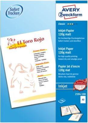 Avery Zweckform pisarniški papir 2594-100, A3, 120 g