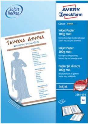 Avery Zweckform pisarniški papir 2585-150, 100 g