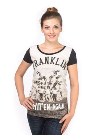 Franklin&Marshall T-shirt damski L czarny