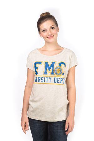 Franklin&Marshall T-shirt damski L szary